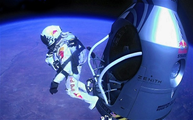 Felix Space Leap Negotiation Red Bull