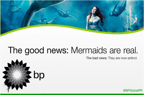 BP Global PR Mermaids Negotiation