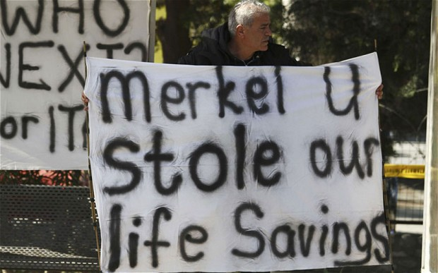 Cyprus Bailout Negotiation