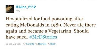 mcdstories vegetarian negotiation