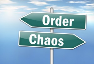 The chaos stage of negotiation